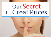 Our Secret to Great Prices